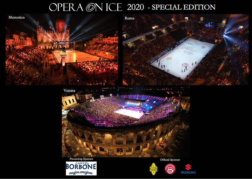 Poster evento Opera on Ice 2020 Special Edition